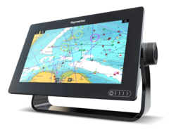 "Raymarine Axiom 7 DV, 7"" Multifunction Display z DownVision, 600W Sonar in CPT-100DVS sondo in z Navionics+ Small karto za prenos"