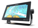 "Raymarine Axiom 7 RV, 7"" Multifunction Display z RealVision 3D, 600W Sonar in RV-100 sondo in z Navionics+ Small karto za prenos"