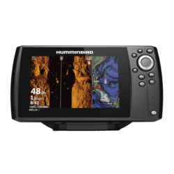 Humminbird HELIX 7 CHIRP MEGA SI GPS G3N + Ethernet&Bluetooth+MEGA Down&Side Imaging